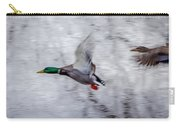 Snow Mallards Carry-all Pouch