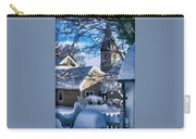 Snow On Back Alley - Shepherdstown Carry-all Pouch