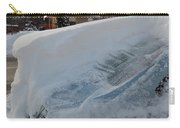 Snow On The Car Carry-all Pouch