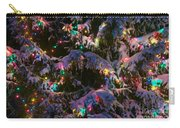 Snow On The Christmas Tree Carry-all Pouch