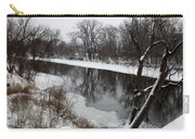Snow On The River Carry-all Pouch