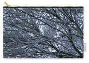 Snow On Twigs Carry-all Pouch