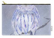 Snow Owl Carry-all Pouch