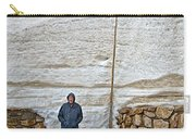 Snow Piles At Alpine Visitor's Center In Rocky Mountain National Park-colorado Carry-all Pouch
