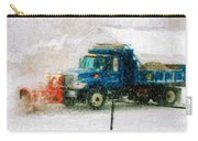 Snow Plow Painterly Carry-all Pouch