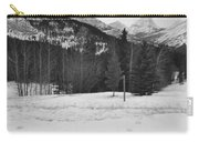 Snow Prints Carry-all Pouch