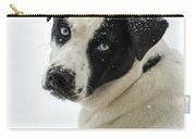 Snow Puppy Carry-all Pouch