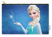Snow Queen Elsa Frozen Carry-all Pouch