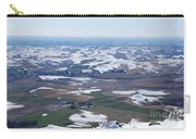 Snow Remnants On The Palouse Carry-all Pouch