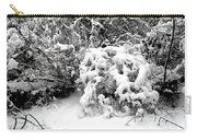 Snow Scene 1 Carry-all Pouch by Patrick J Murphy