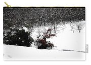 Snow Scene 6 Carry-all Pouch
