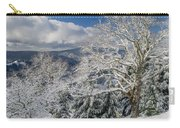 Snow Scene At Berry Summit Carry-all Pouch