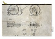 Snow Shoe Attachment For Bicycles Patent 1896 Carry-all Pouch