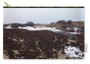 Snow Spotted Dunes Carry-all Pouch