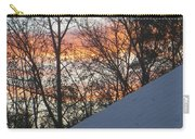 Snow Sunset Carry-all Pouch