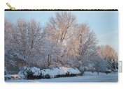 Snow Trees Sunrise 2-2-15 Carry-all Pouch