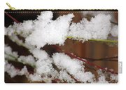 Snow Twig Abstract Carry-all Pouch