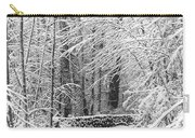 Snow Wall Carry-all Pouch