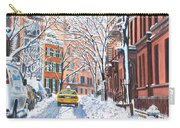 Snow West Village New York City Carry-all Pouch