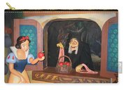 Snow White With Apple Carry-all Pouch