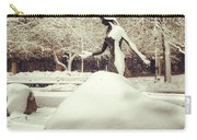 Snow Woman Carry-all Pouch