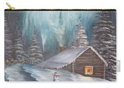 Snowbound Holiday Carry-all Pouch