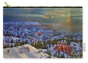 Snowbow During Winter Sunrise Bryce Canyon National Park Utah Carry-all Pouch