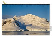 Snowcapped Mountain, Andvord Bay Carry-all Pouch