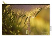 Snowdrop Crystal Carry-all Pouch by Sharon Talson