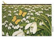Snowdrop Day, Hatfield House Carry-all Pouch