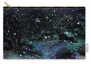 Snowfall At Night Carry-all Pouch