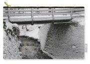 Snowfall Bridge Carry-all Pouch