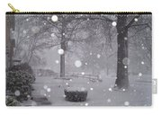 Snowfall On Ayers Carry-all Pouch