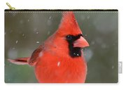 Snowflake Cardinal Carry-all Pouch