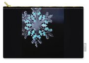 Snowflake In Window 20471 Carry-all Pouch
