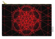 Snowflake Shape Comes From Frequency And Mass Carry-all Pouch by Jason Padgett