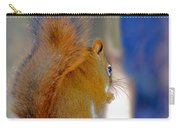 Snowflake Squirrel At Sunset Carry-all Pouch