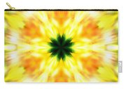 Snowflake Sunburst Carry-all Pouch