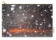 Snowflakes And Orbs Carry-all Pouch