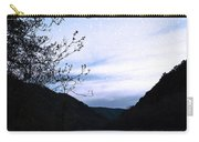 Snowflakes On The River Carry-all Pouch