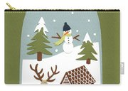 Snowglobe Carry-all Pouch