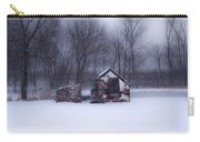 Snowing At Narcissa Road Springhouse Carry-all Pouch