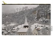 Snowing In The Valley Carry-all Pouch