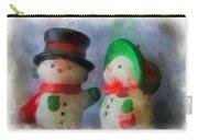 Snowman Photo Art 09 Carry-all Pouch