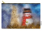 Snowman Photo Art 14 Carry-all Pouch