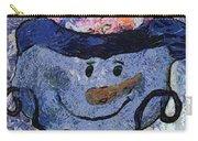 Snowman Photo Art 35 Carry-all Pouch