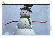 Snowman... Carry-all Pouch