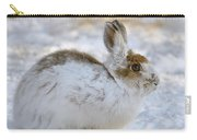 Snowshoe Hare In Winter Carry-all Pouch