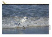 Snowy At The Beach Carry-all Pouch