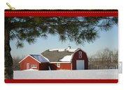 Snowy Barn-0087 Carry-all Pouch